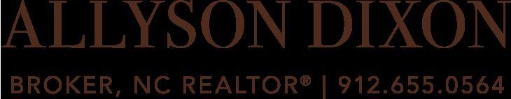 Allyson Dixon, Broker, REALTOR® Logo