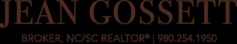 Jean Gossett, Broker, NC REALTOR® Logo