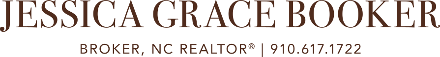 Jessica Grace Booker, Broker, NC REALTOR® Logo