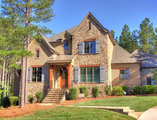 French Country Style Home with Upscale Transitional Interior in Belmont!