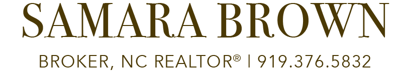 Samara Brown | Broker, NC REALTOR® Logo