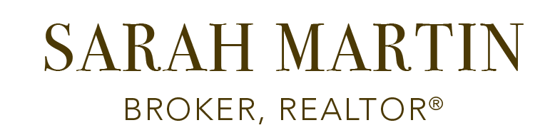 Sarah Martin, Broker, REALTOR® Logo
