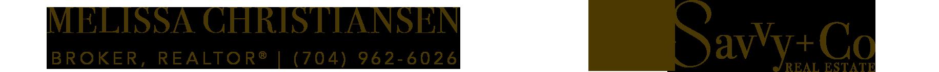 Melissa Christiansen | Broker, REALTOR® NC/SC Logo