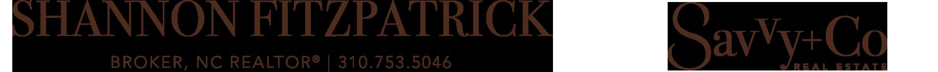 Shannon Fitzpatrick, Broker, NC REALTOR® Logo