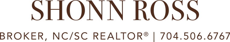 Shonn Ross Charlotte Homes Logo