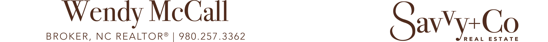 Wendy McCall, Broker, NC REALTOR® Logo