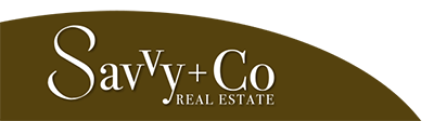 Savvy + Co. Real Estate Logo
